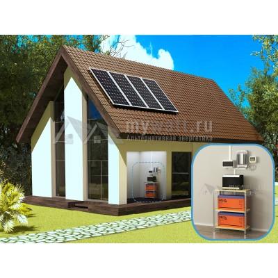 """Готовый комплект солнечных батарей """"Автономный - 1080+"""""""