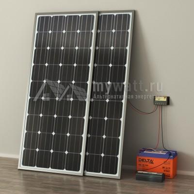 """Готовый комплект солнечных батарей """"Автономный - 200"""""""
