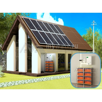 """Комплект солнечных батарей """"Комбинированный - 3360"""""""