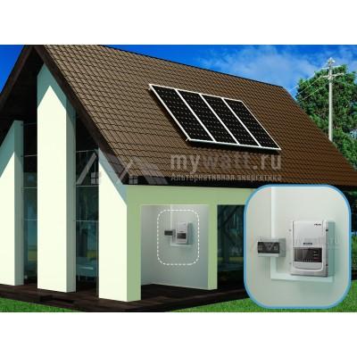 """Готовый комплект солнечных батарей """"Сетевой - 1200"""""""