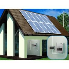 """Комплект солнечных батарей 18кВт*ч в сутки """"Сетевая электростанция - 3000"""""""