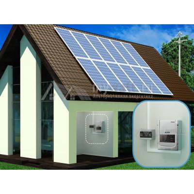 """Готовый комплект солнечных батарей """"Сетевой - 3000"""""""