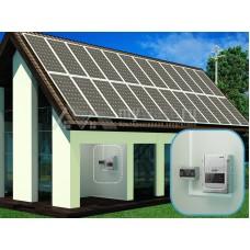 """Комплект солнечных батарей 44кВт*ч в сутки """"Сетевая электростанция - 7200"""""""