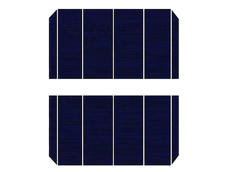 Что такое half-cut солнечные батареи?
