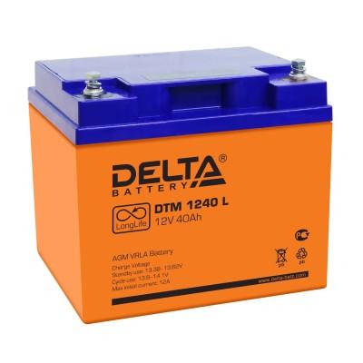 AGM аккумулятор DELTA DTM 1240 L
