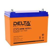 AGM аккумулятор DELTA DTM 1275 L