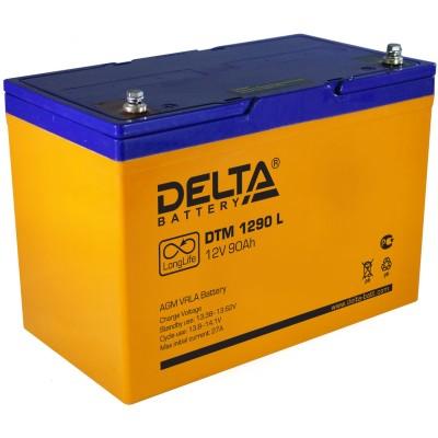 AGM аккумулятор Delta DTM 1290 L