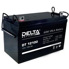 AGM аккумулятор Delta DT 12100