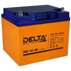 AGM аккумулятор DELTA HRL12-45