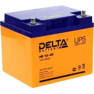 AGM аккумулятор DELTA HR 12-40
