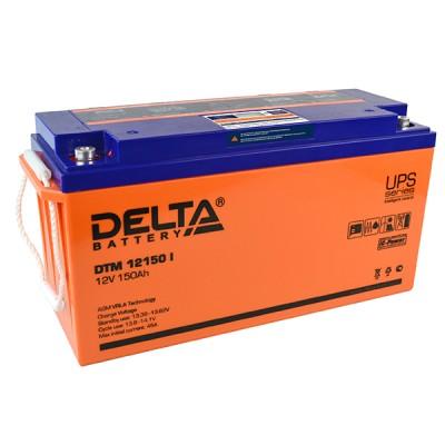 AGM аккумулятор DELTA DTM 12150 i