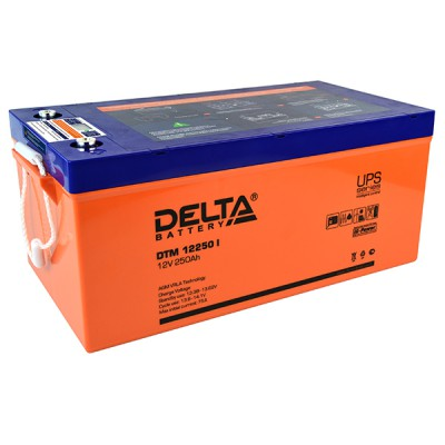 AGM аккумулятор DELTA DTM 12250 i