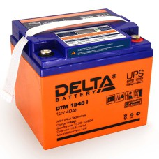 AGM аккумулятор DELTA DTM 1240 i