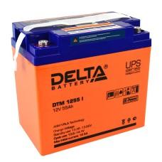 AGM аккумулятор DELTA DTM 1255 i