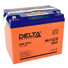 AGM аккумулятор DELTA DTM 1275 i