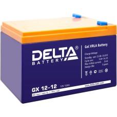 Гелевый аккумулятор DELTA GX 12-12