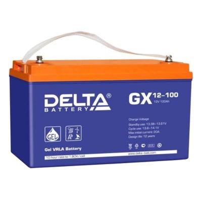 Гелевый аккумулятор DELTA GX 12-100