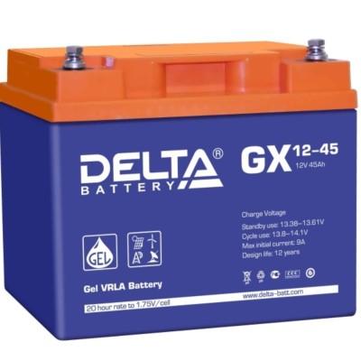 Гелевый аккумулятор DELTA GX 12-45