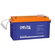 Гелевый аккумулятор DELTA GX 12-120