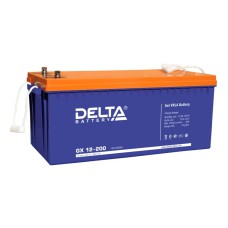 Гелевый аккумулятор DELTA GX 12-200