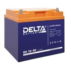 Гелевый аккумулятор DELTA GX 12-40