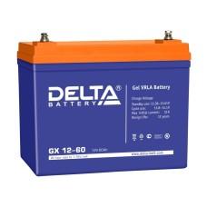 Гелевый аккумулятор DELTA GX 12-60