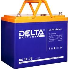 Гелевый аккумулятор DELTA GX 12-75