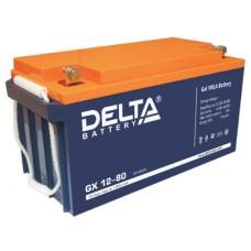Гелевый аккумулятор DELTA GX 12-80