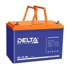 Гелевый аккумулятор DELTA GX 12-90