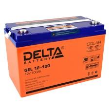 Гелевый аккумулятор DELTA GEL 12-100
