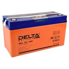 Гелевый аккумулятор DELTA GEL 12-120