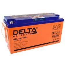Гелевый аккумулятор DELTA GEL 12-150