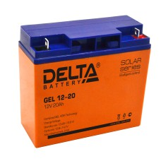 Гелевый аккумулятор DELTA GEL 12-20