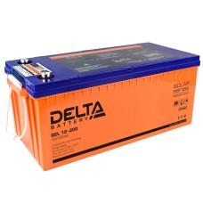 Гелевый аккумулятор DELTA GEL 12-200