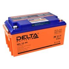 Гелевый аккумулятор DELTA GEL 12-65