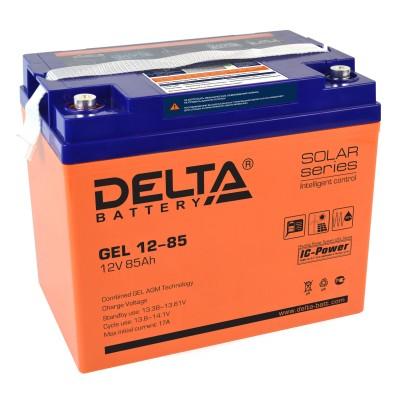 Гелевый аккумулятор DELTA GEL 12-85