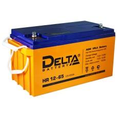 AGM аккумулятор DELTA HR 12-65