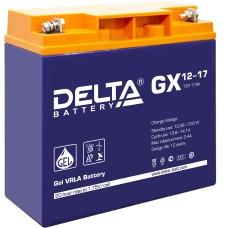 Гелевый аккумулятор DELTA GX 12-17