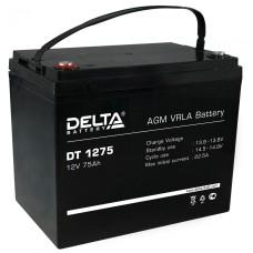 AGM аккумулятор Delta DT 1275