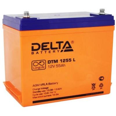 AGM аккумулятор DELTA DTM 1255 L