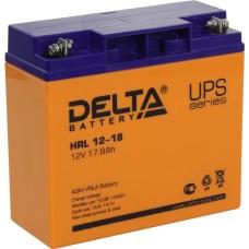 AGM аккумулятор DELTA HRL12-18
