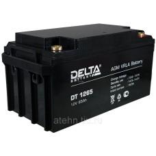 AGM аккумулятор Delta DT 1265