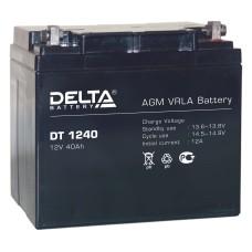 AGM аккумулятор Delta DT 1240
