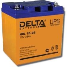 AGM аккумулятор DELTA HRL12-26
