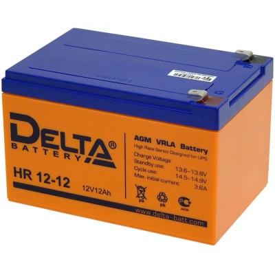 AGM аккумулятор DELTA HR 12-12