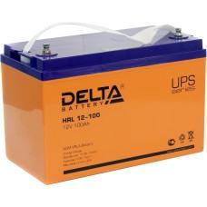 AGM аккумулятор DELTA HRL12-100