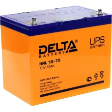 AGM аккумулятор DELTA HRL12-75
