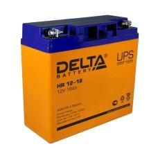 AGM аккумулятор DELTA HR 12-15