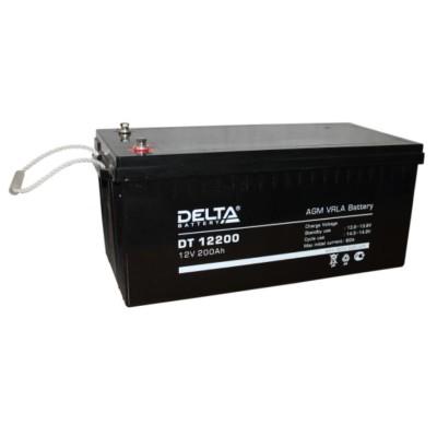 AGM аккумулятор Delta DT 12200