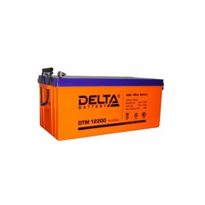 AGM аккумулятор DELTA DTM 12200 L